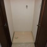 脱衣室付・室内洗濯機置場有1DK内装写真