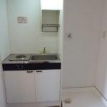 室内洗濯機置場有り!キッチンはIHコンロです♪(写真はIH交換前)