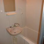 浴室も専用。
