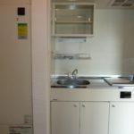 オール電化・IHキッチンで安心1DK内装写真