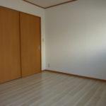1LDKタイプ 扉を閉めれば独立した部屋になりますよ♪