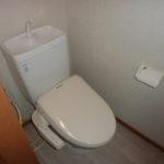 1LDKタイプ トイレはウォシュレット♪