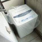 洗濯機も付いてますよ♪