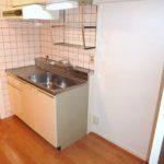 キッチン横スペースも広め・冷蔵庫+αスペース有♪