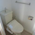 1K8帖タイプ♪トイレも丸ごと新品に取りかえ済で綺麗です♪ウォシュレット付